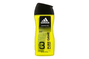 Гель для душа для мужчин Pure Game 3in1 Adidas 250мл