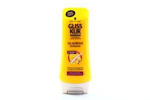 Бальзам для волос Oil nutritive Gliss Kur 200мл