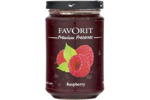 Favorit Premium Preserves Raspberry