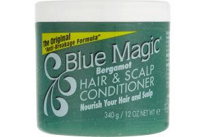 Blue Magic Bergamot Hair & Scalp Conditioner