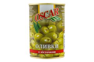 Оливки с косточкой Oscar ж/б 280г