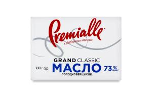 Масло 73% солодковершкове Grand Classic Premialle м/у 180г
