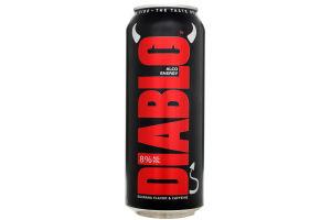 Пиво специальное 0.5л 8% пастеризованное Black Diablo ж/б