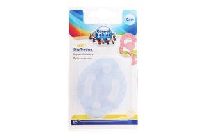 Прорезыватель для детей от 0мес прозрачный Soft Canpol babies 1шт