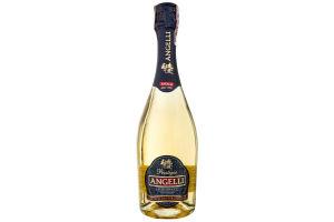 Вино ігристе КЗШВ Angelli Semi-Sweet 13.5% 0.75л x12