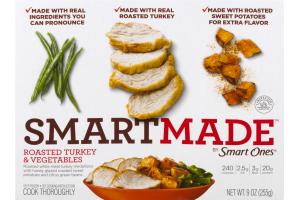 SmartMade Roasted Turkey & Vegetables