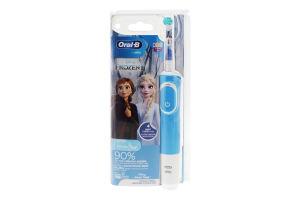 Щітка зубна для дітей від 3років електрична 3710 Frozen II Disney Oral-B 1шт
