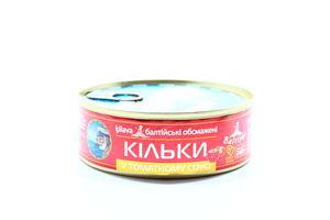 Кильки в томатном соусе Baltijas ж/б 240г