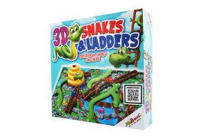 Гра настільна для дітей від 4років №40405 Змійки та сходинки JoyBand 1шт