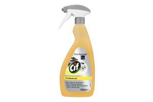 Средство чистящее и обезжиривающее Professional Cif 750мл