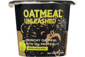 Oatmeal Unleashed Green Apple Spice
