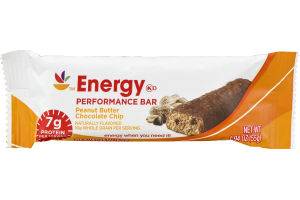 Ahold Energy Performace Bar Peanut Butter Chocolate Chip
