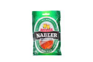 Лосось соломка солено-сушеный Nabeer 25г