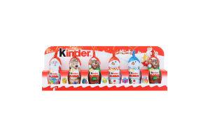 Шоколад фігурний молочний з молочною білою кулею Kinder к/у 90г