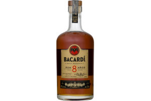 Bacardi Gran Reserva 8 Year Aged Rum - Bottle