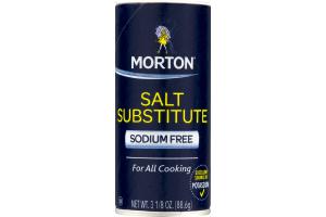 Morton Salt Substitute Sodium Free