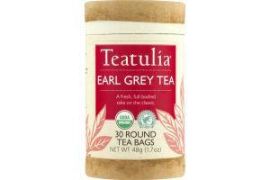 Teatulia Earl Grey Tea Bags - 30 CT