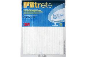 3M Filtrete Dust & Pollen Reduction Filter 20x25x1