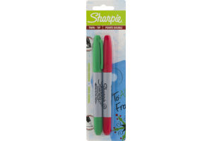 Sharpie Twin Tip Permanent Markers - 2 CT