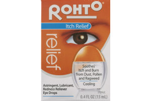 Rohto Itch Relief Eye Drops