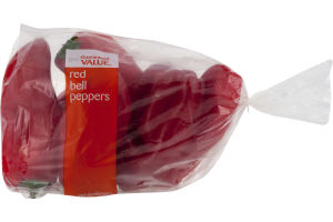 Guaranteed Value Red Bell Pepper