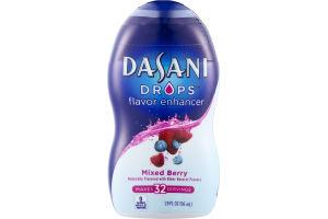Dasani Flavor Enhancer Drops Mixed Berry - 32 Servings