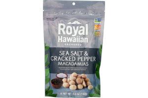 Royal Hawaiian Orchards Macadamias Sea Salt & Cracked Pepper