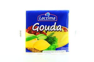 Сыр плавленый Lactima Гауда тостерный 8шт/130г