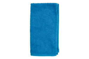 Серветка махрова блакитна 30х50см Баркас-Текс 1шт