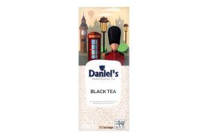 Чай Чорний Daniels Black Tea 25*2г 50г