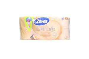 Бумага туалетная 3-х слойная Арома SPA Deluxe Zewa 8шт