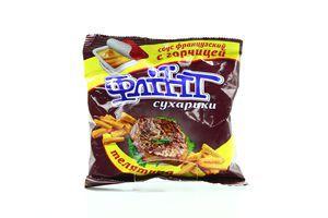 Сухарики с горчицей со вкусом телятины Flint м/у 70г