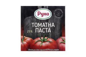 Паста томатная 25% Руна м/у 70г