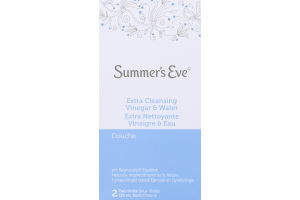 (CN) Summer's Eve Extra Cleansing Vinegar & Water Douche - 2 CT, Summer's Eve Extra Nettoyante Vinaigre & Eau Douche - 2 CT