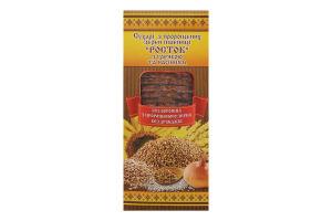Сухарі з пророщених зерен пшениці з гречкою та насінням Росток к/у 0.15кг