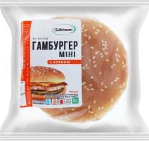 Бутерброд Гамбургер міні з куркою Gulfstream п/у 140г