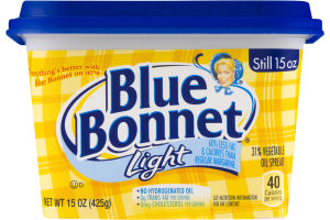 Blue Bonnet 31% Vegetable Oil Spread Light