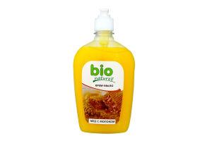 Крем-мыло жидкое Мед с молоком Bio Naturell 500мл