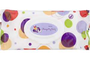 Always My Baby Baby Wipes Thick & Gentle Unscented - 40 CT