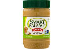 Smart Balance Creamy Natural Rich Roast Peanut Butter