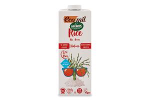 Молоко растительное органическое из риса Ecomil т/п 1л