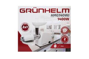 Мясорубка электрическая 1400 Вт AMG140WJ Grunhelm 1шт