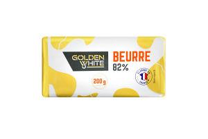 Масло 82% вершкове Golden White м/у 200г