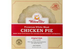 Willow Tree Premium Chicken Pie White Meat No Vegetables