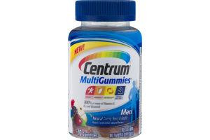 Centrum Men MultiGummies Cherry, Berry & Apple - 70 CT