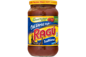 Ragu Old World Style Sauce Traditional