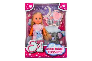Набір ляльковий з слоненям для дітей від 3рок №105733355 На добраніч Еві Simba 1шт