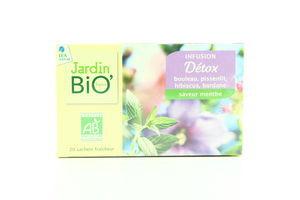 Чай травяной виводит токсины органический Jardin Bio 20*1,5г
