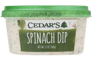 Cedar's Spinach Dip