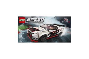 Конструктор для детей от 7лет №76896 Nissan GT-R Nismo Speed Champions Lego 1шт